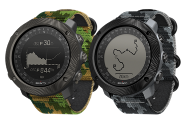 Suunto Traverse Alpha collection grows with two camouflage patterned variants