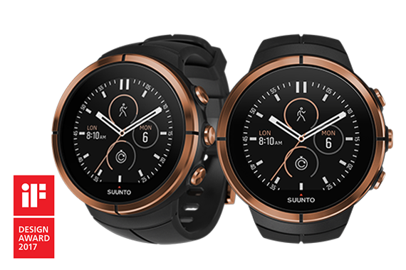 Spartan Ultra watches awarded with 2017 iF Design Award