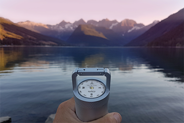 A professional Suunto compass in the VSSL survival gear
