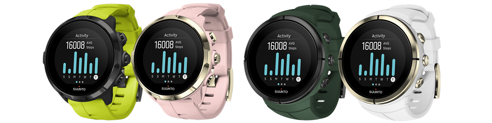 Customized collection grows with Suunto Spartan watches