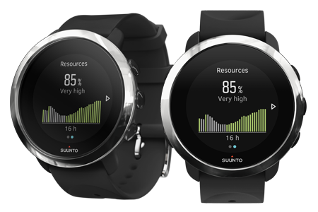 Suunto 3 Fitness stress and recovery
