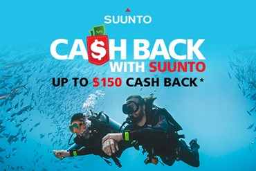 Suunto Dive Cash Back