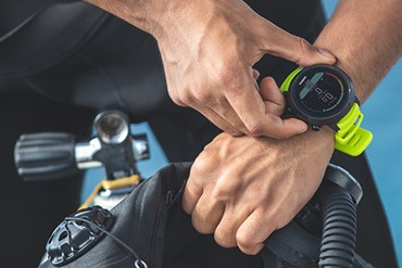 Suunto launches a new easy-to-read dive computer for recreational scuba and freedivers