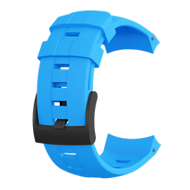 SUUNTO AMBIT3 VERTICAL BLUE SILICONE 表带