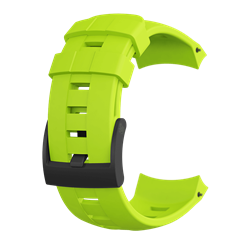 Suunto Ambit3 Vertical Lime Silicone 表带