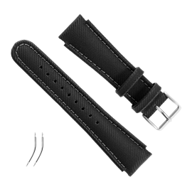 BLACK SYNTHETIC FABRIC STRAP KIT