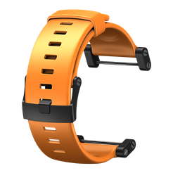 Core Flat orange elastomerarmband
