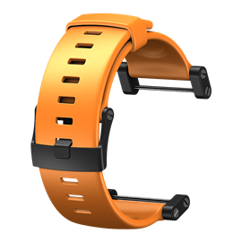 SUUNTO CORE FLAT ELASTOMER STRAP ORANGE
