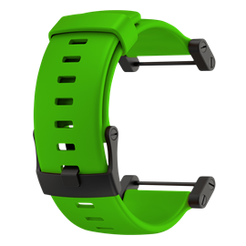 SUUNTO CORE GREEN RUBBER STRAP