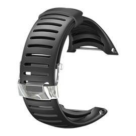 SUUNTO CORE LIGHT ELASTOMER STRAP BLACK