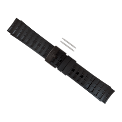 Elementum Terra All Black Rubber Strap Kit