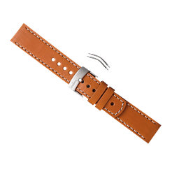 Elementum Ventus Brown Leather Strap Kit