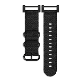 SUUNTO ESSENTIAL ALL BLACK 编织表带套装