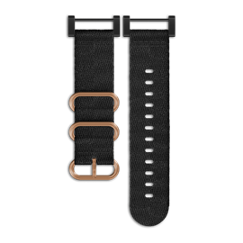 KIT BRACELET TEXTILE SUUNTO ESSENTIAL COPPER BLACK