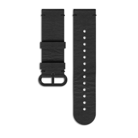SUUNTO ESSENTIAL ALL BLACK LEATHER STRAP