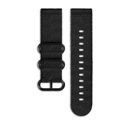 SUUNTO ESSENTIAL ALL BLACK 编织表带
