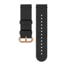 SUUNTO ESSENTIAL COPPER BLACK LEATHER STRAP