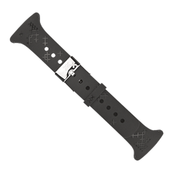 M-Series Black Cross Pattern Strap
