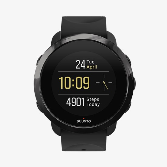 Suunto 3 Fitness Black - smart training watch 0353c971924