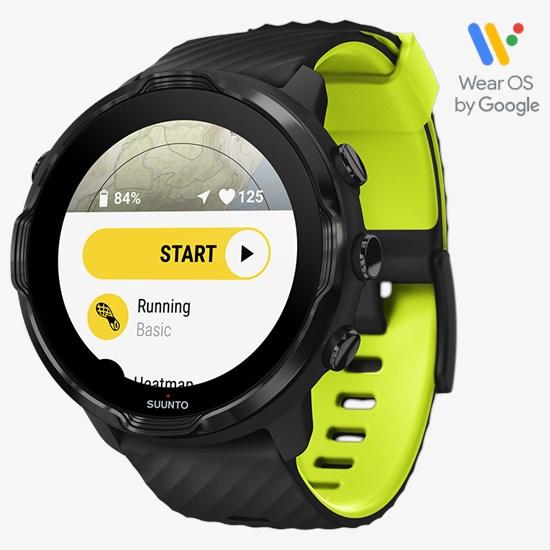 Suunto7 Black Lime: reloj inteligente con una versátil