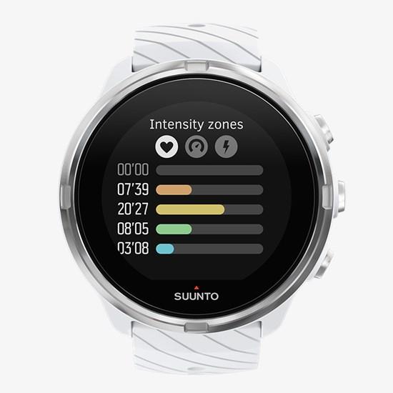 6ebf0e9938f9 Suunto 9 White - Reloj GPS deportivo con batería de larga duración