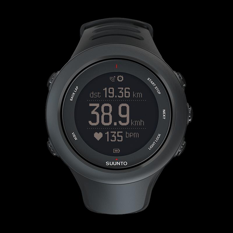ec0b41da512 Suunto Ambit3 Sport Black - GPS watch for multisport