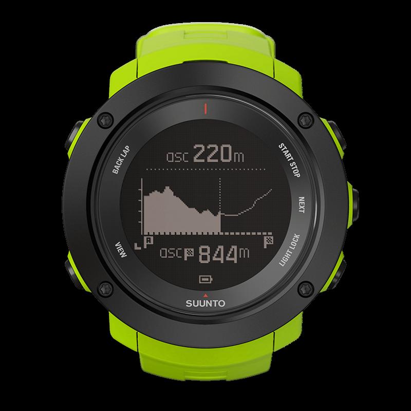 Suunto Ambit3 Vertical Lime – Reloj GPS para actividades ...