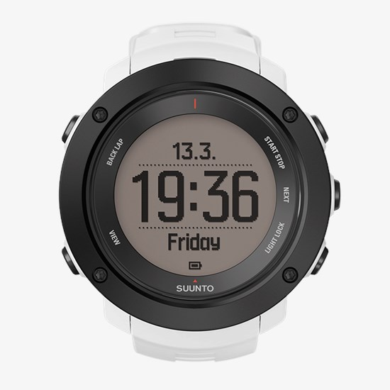 Suunto Ambit3 Vertical White - Multisport GPS watch