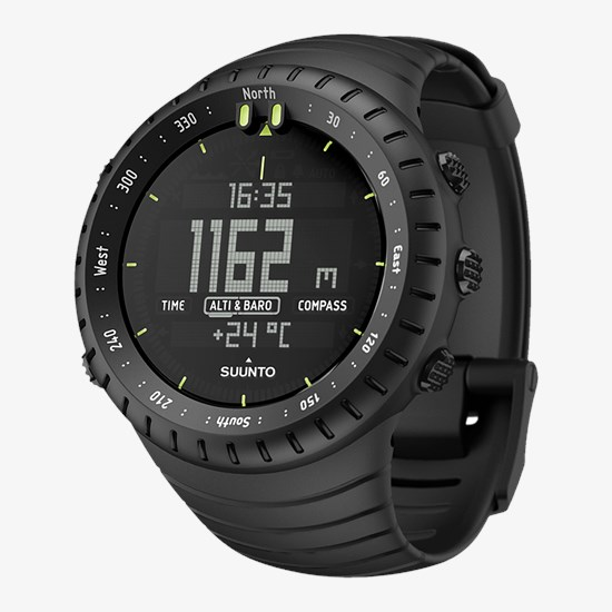 de48e4199 Suunto Core All Black - Outdoor watch with altimeter