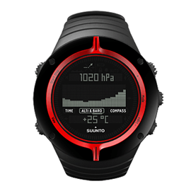 SUUNTO CORE EXTREME EDITION RED
