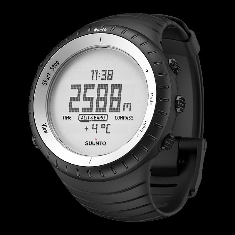 suunto core glacier gray outdoor watch with altimeter