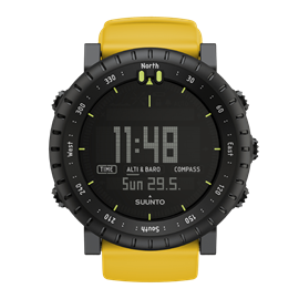 Suunto Core Jaune intense