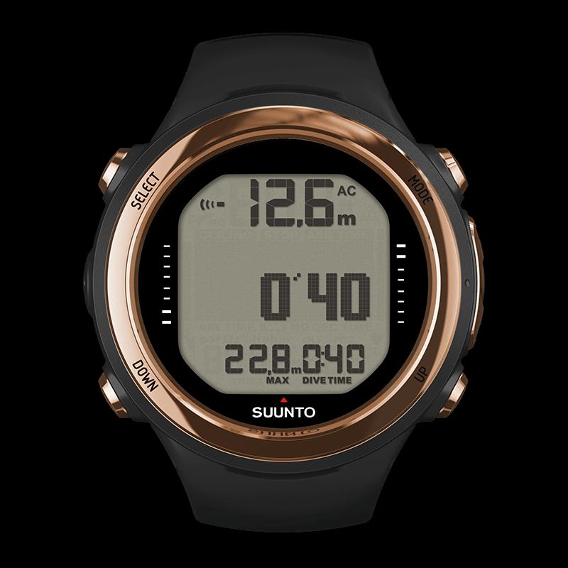 Suunto d4i novo copper watch sized dive computer - Suunto dive watch ...