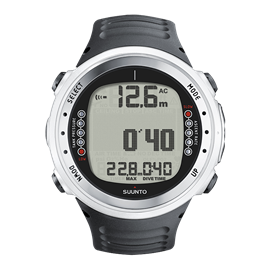 SUUNTO D4I WHITE WITH BLACK STRAP