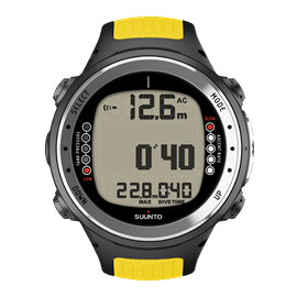 SUUNTO D4i Yellow