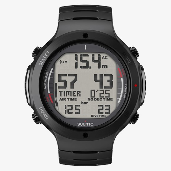 Suunto D6i All Black Steel – Dive features in rugged steel casing 22780928cfd