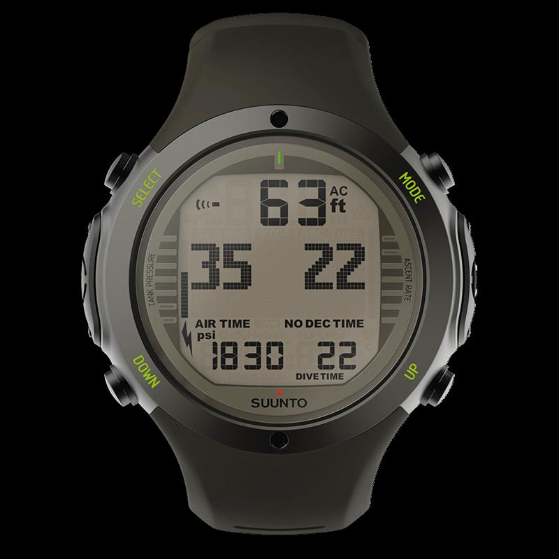 Suunto d6i novo stealth robust dive computer with 3d compass - Suunto dive watch ...