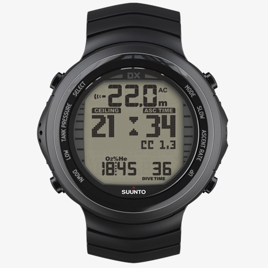 Dx Ordinateur De Black Plongée Avec Compatible Suunto Titanium Les I2WED9YH