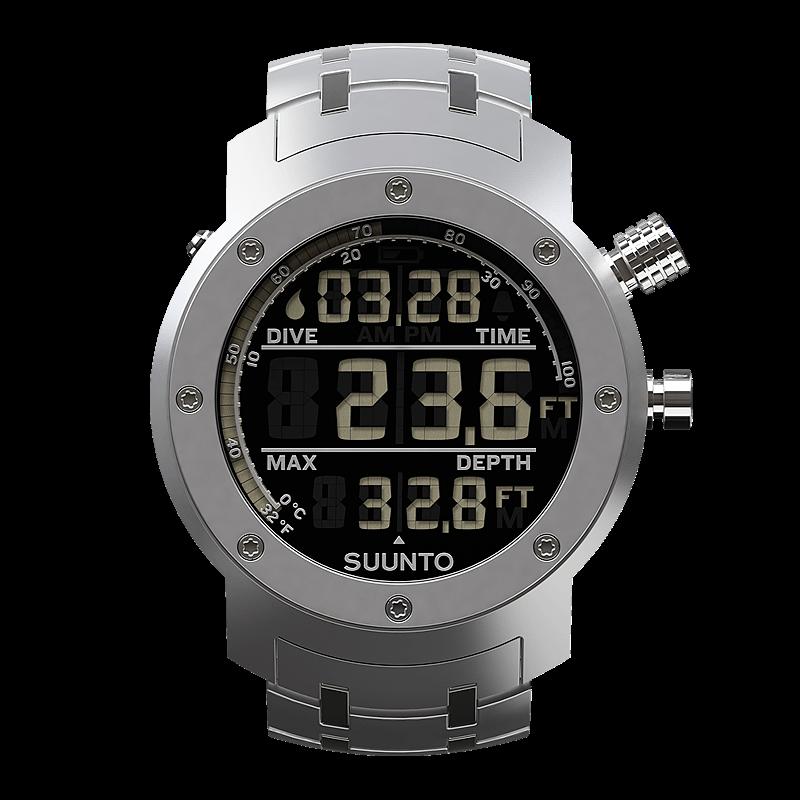 Suunto elementum aqua steel sports watch for urban dive - Suunto dive watch ...