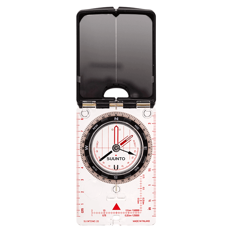 Suunto MC-2 Global Spiegelkompass Marschkompass 360-Grad Kompass Kompaß 708110
