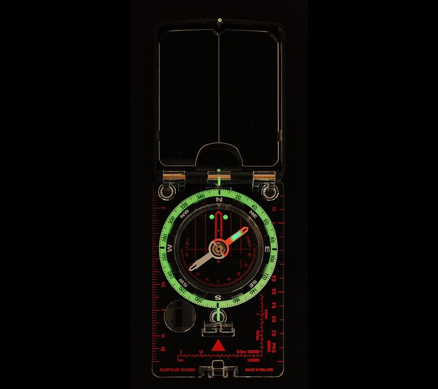 Suunto MC-2 G USGS Mirror Compass - Compass for mountaineers