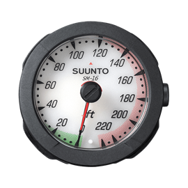 SUUNTO SM-16 WRIST DEPTH GAUGE 230