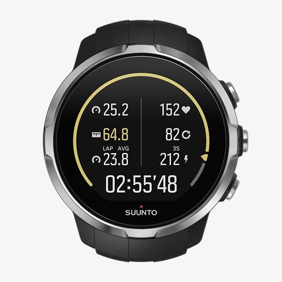 Suunto Spartan Sport Black - Multisport GPS watch 6ce761e909