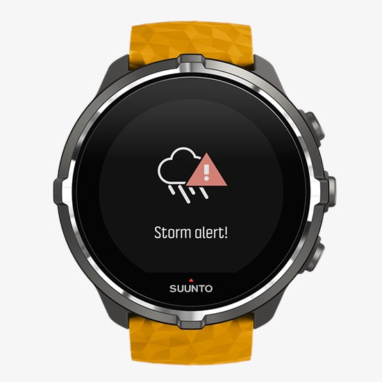 Suunto Spartan Sport Wrist HR Baro Amber multisport GPS watch c95b4e5ae77