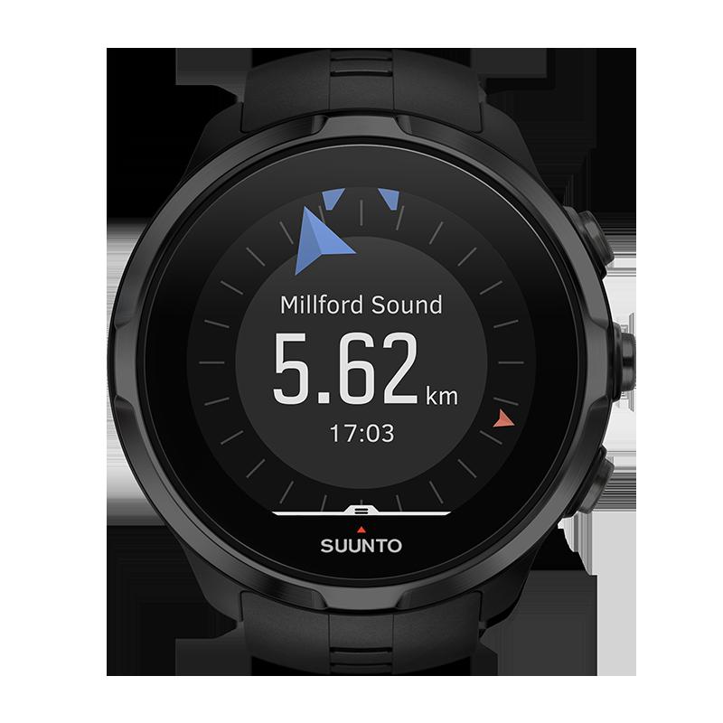 Suunto Spartan Sport Wirst HR GPS-Sportuhr Schwarz günstig kaufen SS022662000