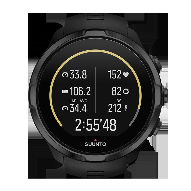 SS022662000 günstig kaufen Schwarz Suunto Spartan Sport Wirst HR GPS-Sportuhr