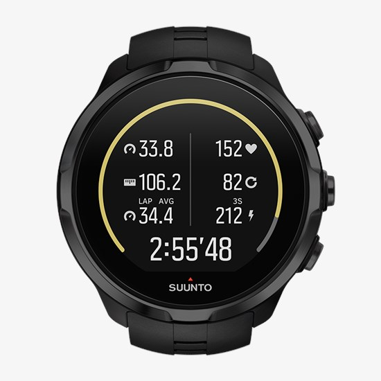 1297036bc55 Suunto Spartan Sport Wrist HR All Black - Multisport GPS watch