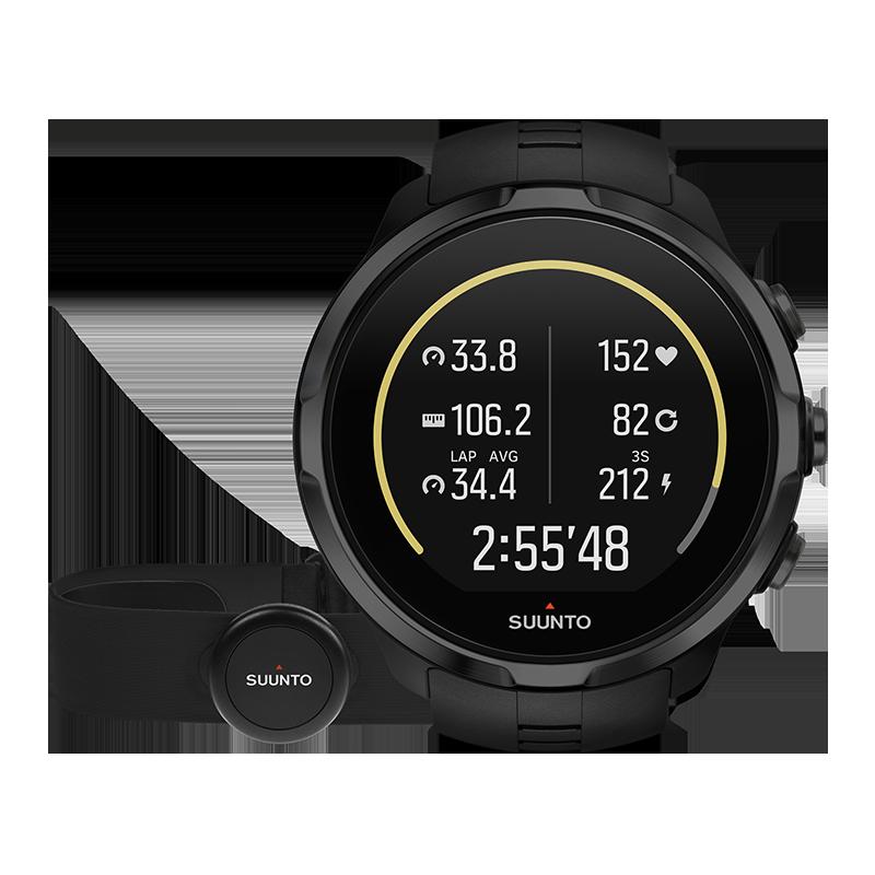 SS022662000 Suunto Spartan Sport Wirst HR GPS-Sportuhr günstig kaufen Schwarz