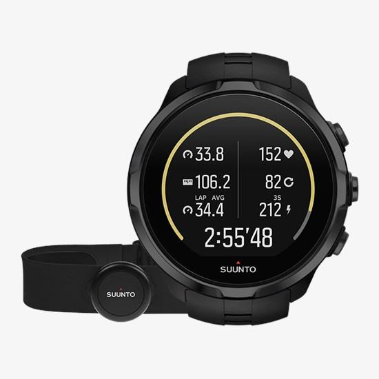 b627299bf Suunto Spartan Sport Wrist HR All Black GPS watch with HR belt