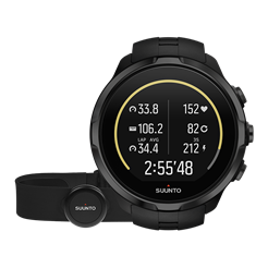 Suunto Spartan Sport Wrist HR All Black with Belt
